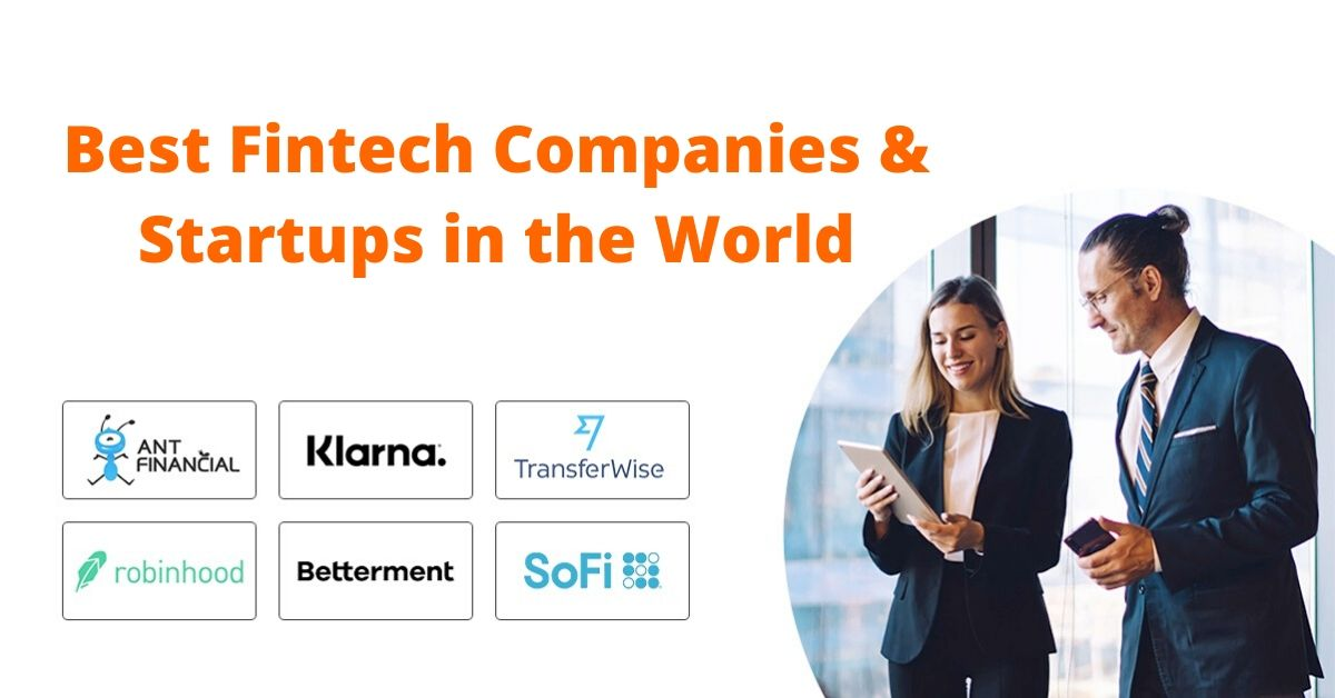 Fintech Companies and Startups in World