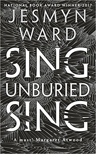 Book cover for Jesmyn Ward's Sing, Unburied, Sing in the South Manchester, Chorlton, and Didsbury book group