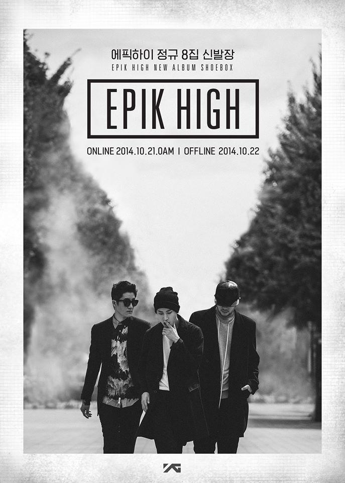 EPIK HIGH presenta Shoebox su nuevo álbum