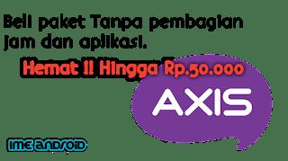Cara beli paket internet Axis super murah
