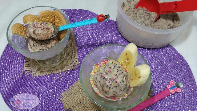 helado exprés de yogur en 15 minutos sin lactosa