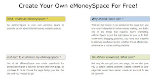 eMoneySpace Earning Money From Home