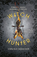 Witch Hunter by Virginia Boecker cover
