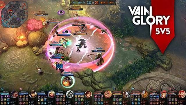 Pemain Vainglory Bakal Bisa Gunakan Virtual Joystick