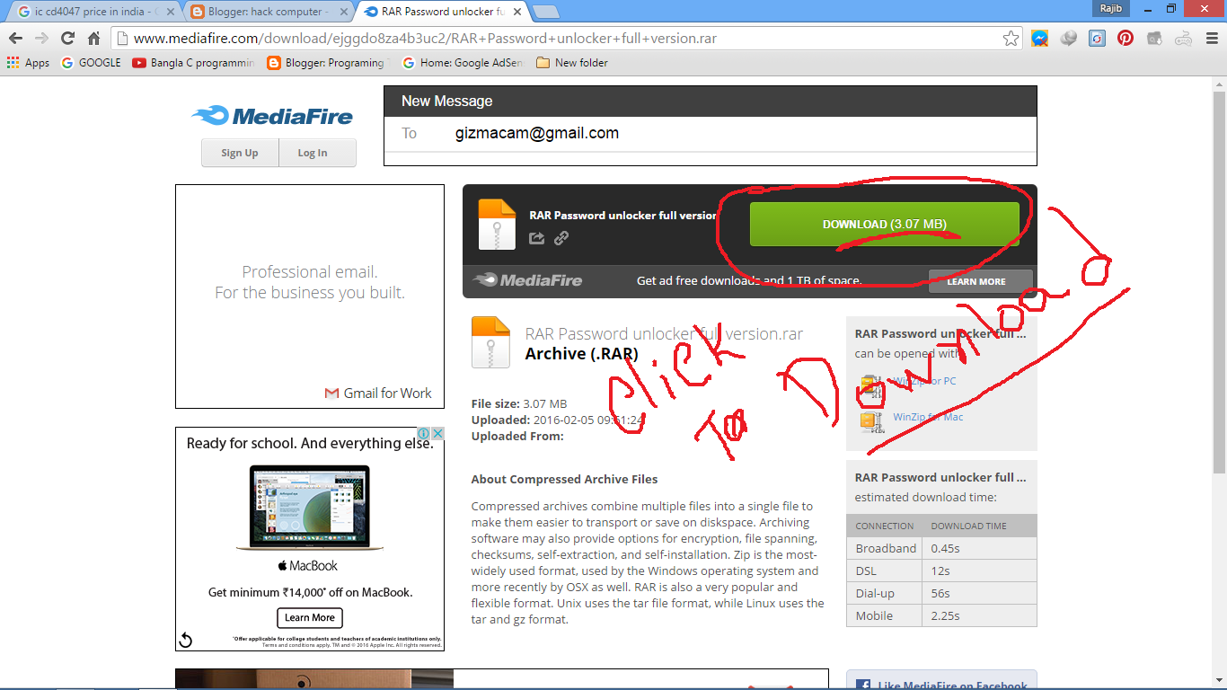 download software bobol password rar