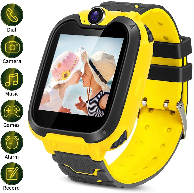 45% off Kids Smartwatch with Two-Way Call SOS Games Camera Music,1.54 inch Touch Screen for Boys Girls Birthday