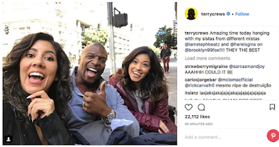 Gina Rodriguez, Terry Crews y Stephanie Beatriz