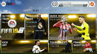 FIFA 14 Mod FIFA 18 by Hafiz Apk + Data Obb & Shader
