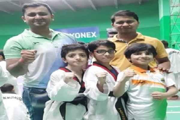haryana-cup-taekwondo-pratiyogita-mayank-dyma-kanishka-win-gold-anshu-silver
