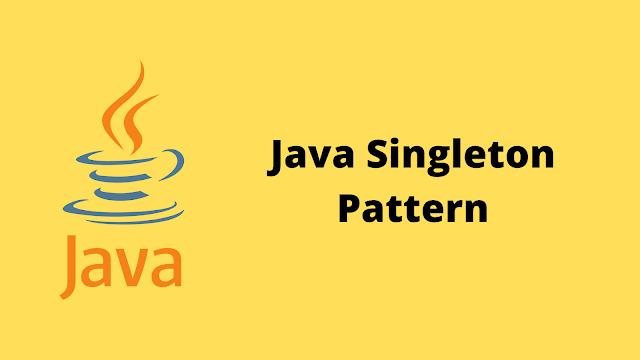 HackerRank Java Singleton Pattern problem solution