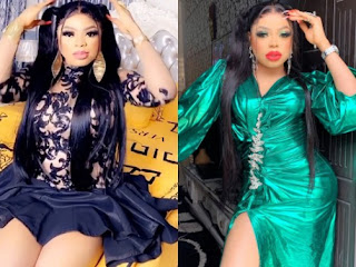 Bobrisky Steps Out On A Date With Boyfriend