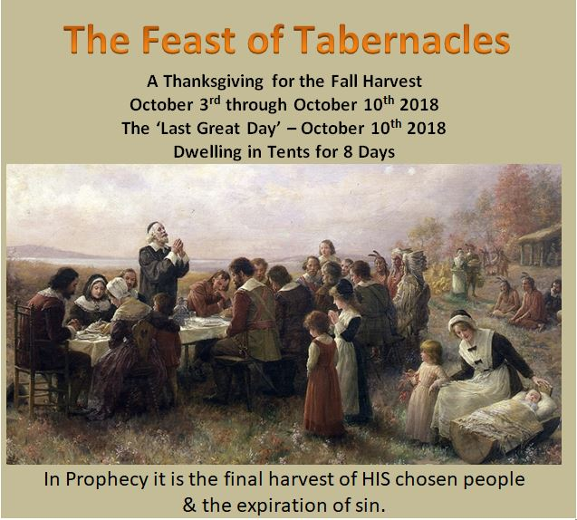 The Christian Feast of Tabernacles & Our Fatheru0027s Kingdom of America: The Christian Feast of Tabernacles