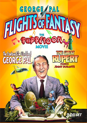 Cover art for the George Pal Flights of Fantasy DVD set