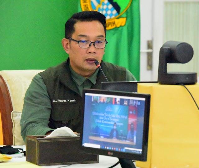 Gubernur Jabar  Ridwan Kamil Minta KPU Jabar Inovatif di Tengah Pandemi Covid-19