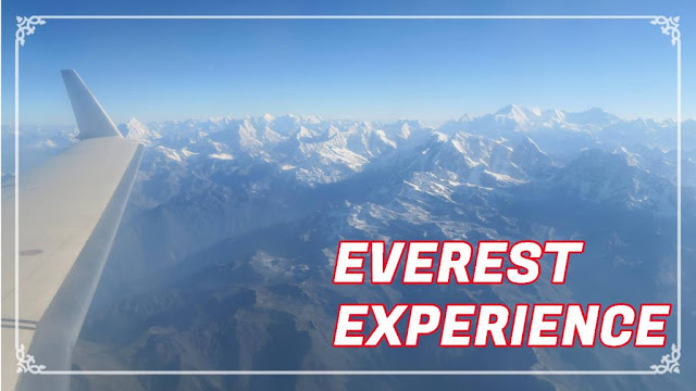 Sobrevoando o Monte Everest no Nepal