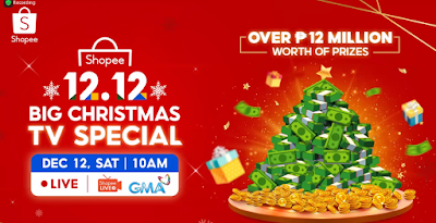 Shopee 12.12 Big Christmas TV Special on GMA
