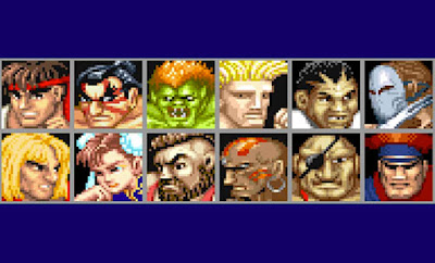 Street Fighter 2 personaggi
