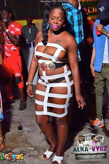 Photo: Fashion Or Madness? Lady Set The Internet On Fire With Her Eye-Popping Naked Dress!