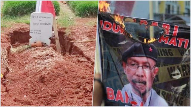 Makam Budi Djarot Ambles, Kepala TPU: Wajar, Tanah Belum Padat