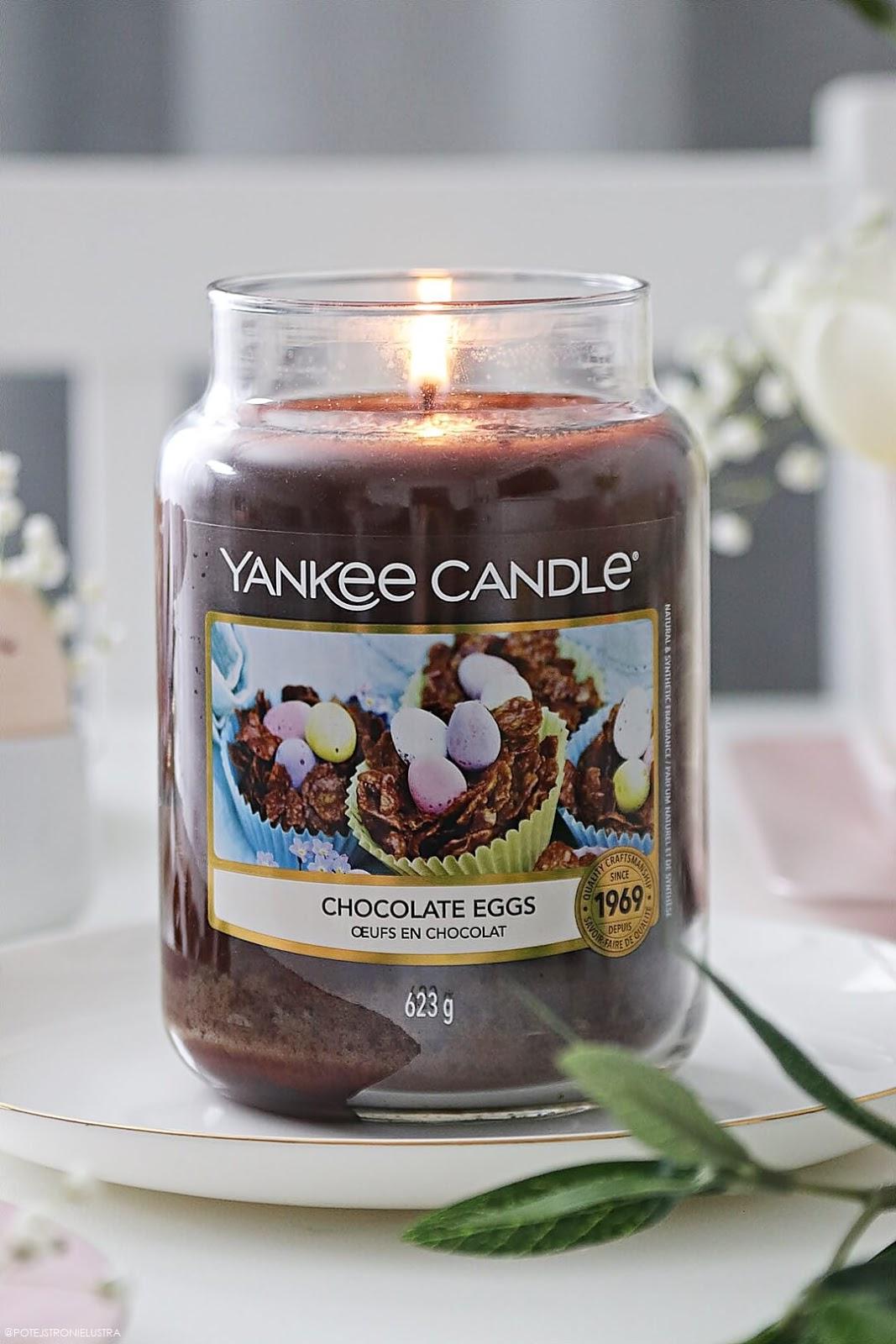 yankee candle chocolate eggs nowy zapach na wielkanoc 2020