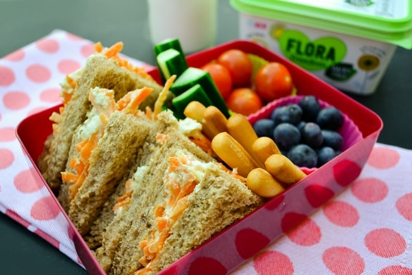 TUESDAY MEAL PLAN - vegan kids lunch box