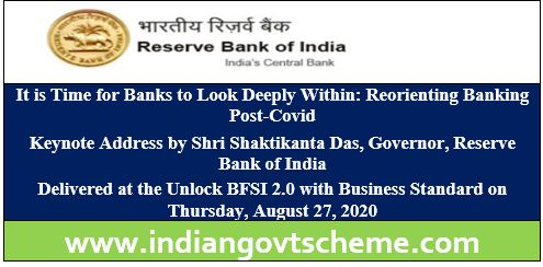Reorienting Banking Post