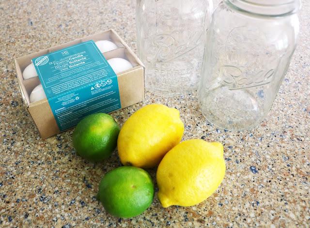DIY Summer Citrus Centerpieces