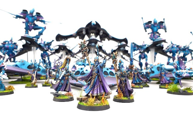 What's On Your Table: Eldar Apocalypse Army