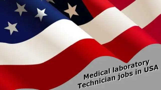 Medical Laboratory Technician/Lab Technician jobs in USA