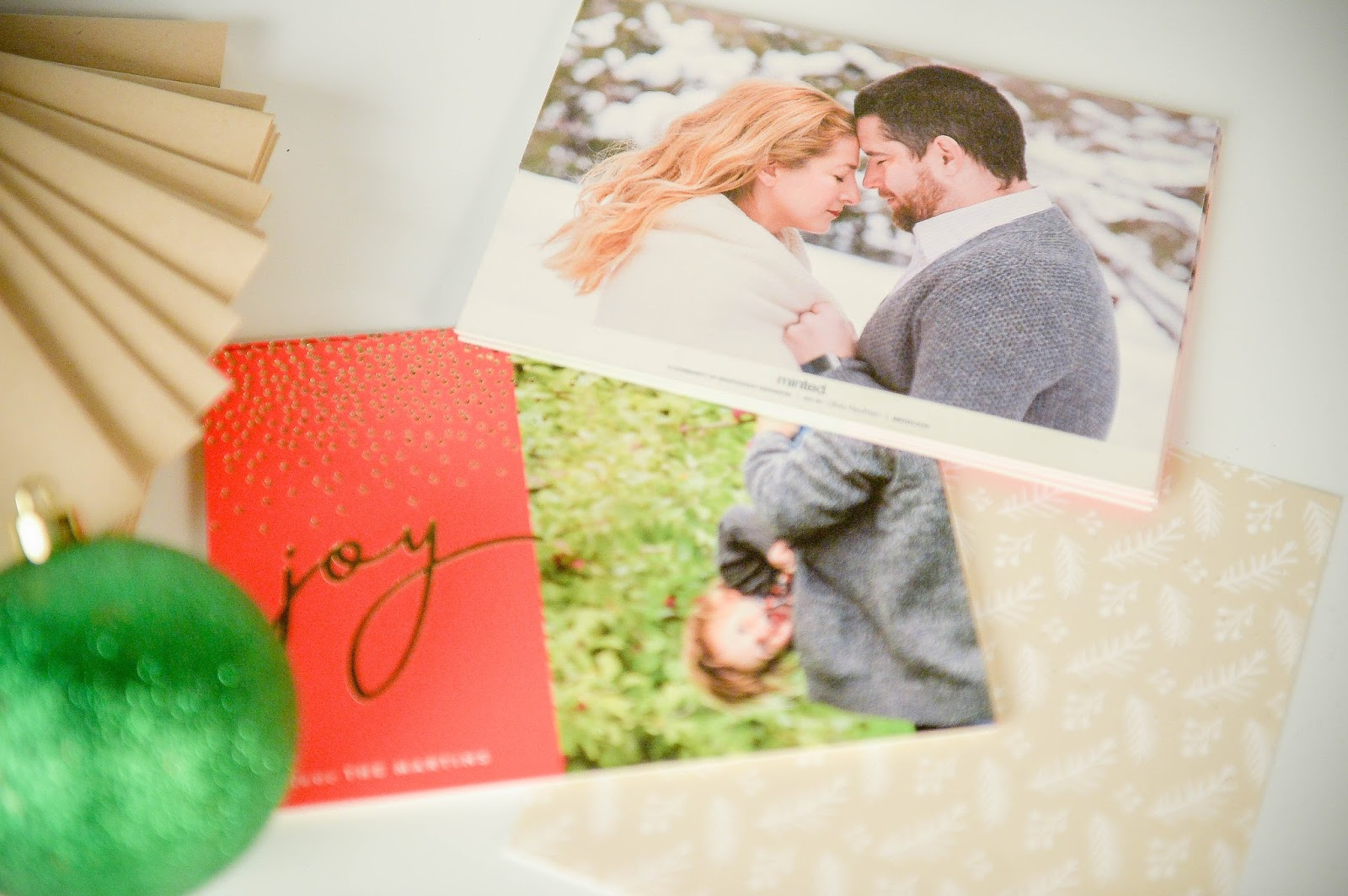 Minted holidays cards