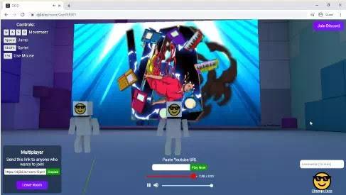 Cara Nonton Video YouTube Bareng Teman di Ruang 3D-3