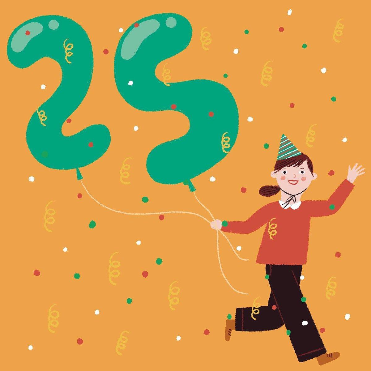 Geburtstagswünsche 25 Jahre - Sprüche zum 25. Geburtstag