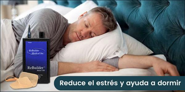 rebuilder reduce el estres y ayuda a dormir