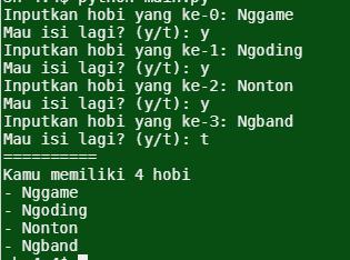 Berkenalan Dengan Struktur Data List Pada Python