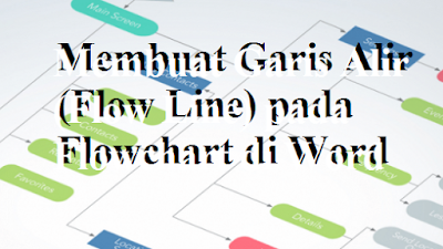 Membuat Garis Alir (Flow Line) pada Flowchart di Word