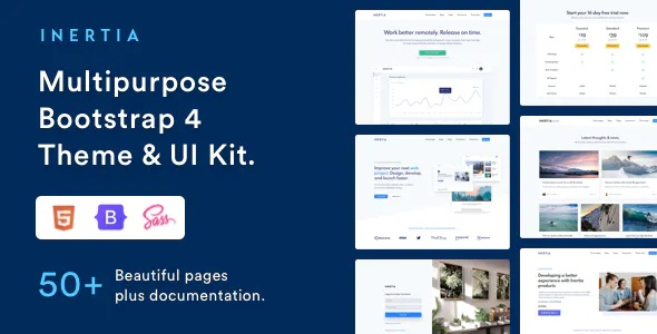 Best Multipurpose Bootstrap Theme and UI kit