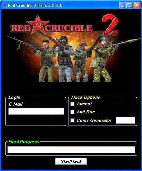 play red crucible 2 hacked