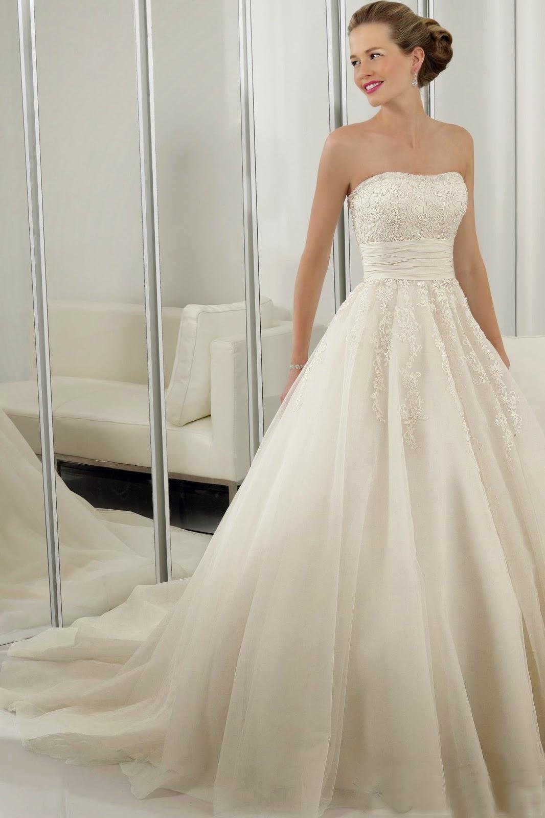 A Line Wedding Dresses Ideas