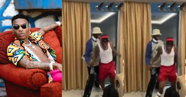 E B LIKE SAY E DON HIGH; FANS REACTS TO VIDEO OF WIZKID STAGGERING IN GHANA (VIDEO)