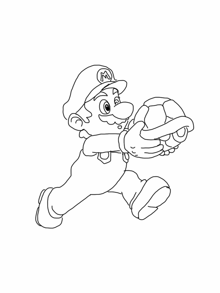 baby coloring luigi pages 2020 Mario coloring pages