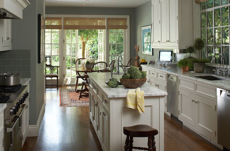 wall color take a look at these white kitchens with gray toned walls