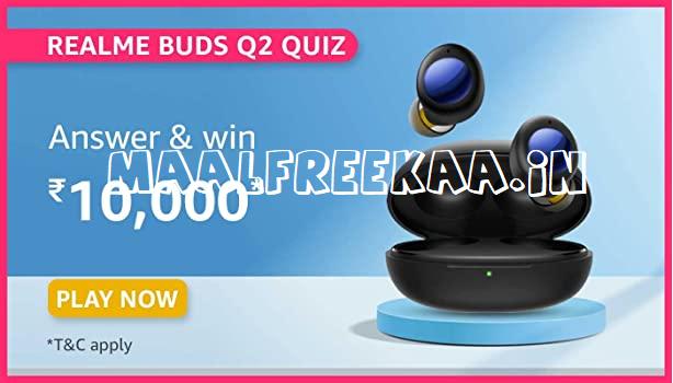 realme buds q2 contest win prizes