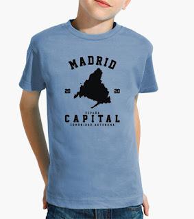 Camisetas, Niños, Ciudades