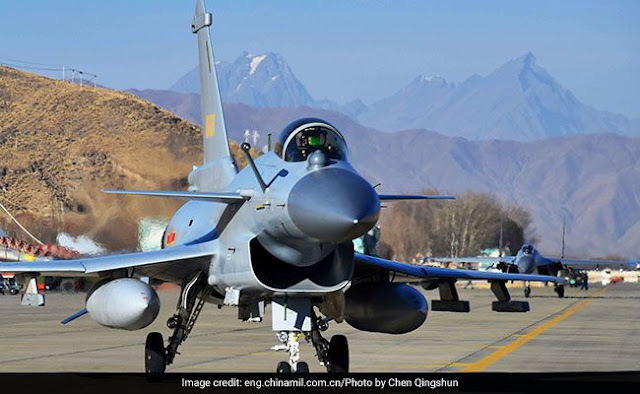 J-11 fighter jets attached to an