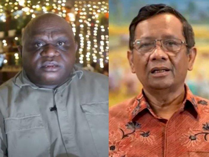 Natalius Pigai: Mahfud MD Sengaja Ciptakan Label Negatif pada Orang Papua