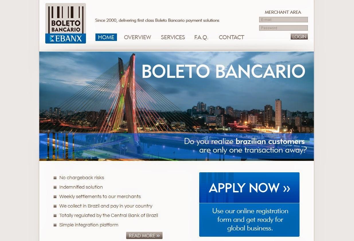 Boleto Bancario Screen