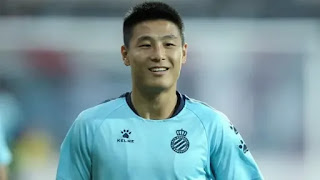 Wu Lei is one of the four Espanyol footballers affected by Covid-19