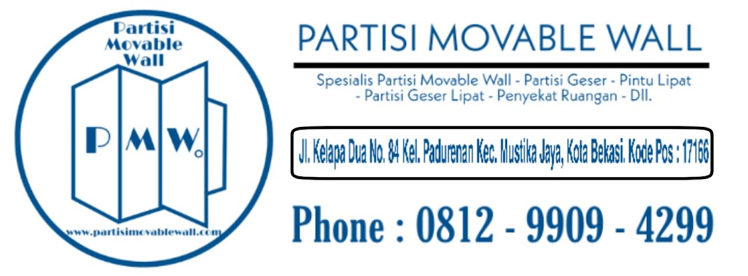 Partisi Geser Lipat Movable Wall