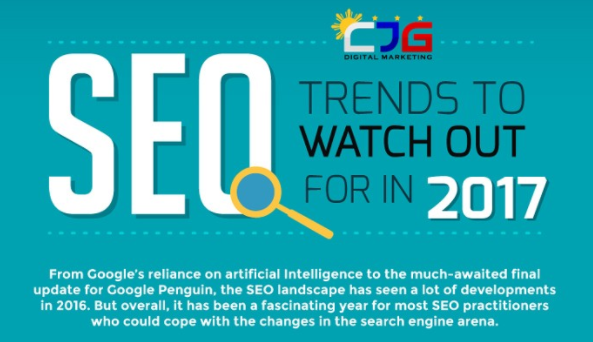 5 SEO Trends For 2017 [Infographic]