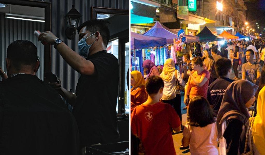 Kedai Gunting Rambut, Pasar Malam Dan Pusat Cuci Kereta Dibenarkan Beroperasi Bermula 5 Februari